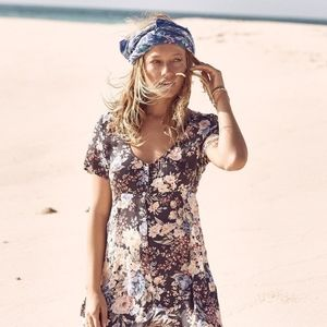 Auguste Alice day dress navy francis floral XS 6